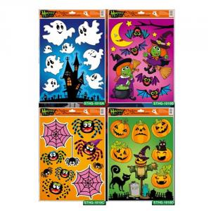 Halloween Glitter Window Decorations series